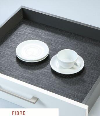 Kitchen Non Slip Drawer Liner Mat Rubberised Ebay