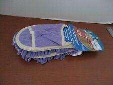 NEW 3X PURPLE Super Soft EVRI Slipper Genie Microfiber Cleaning Slipper Size 6-9