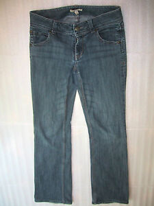 CAbi-Jeans-638-Contemporary-Fit-Boot-Cut-Stretch-Denim-Womens-Size-4-Long-31x31