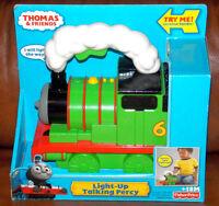 New- Fisher-price Thomas The Train & Friends Light-up Talking Percy Preschool