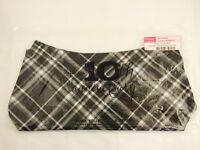 Thirty-one Fitted Purse Skirt In Black Pick Me Plaid