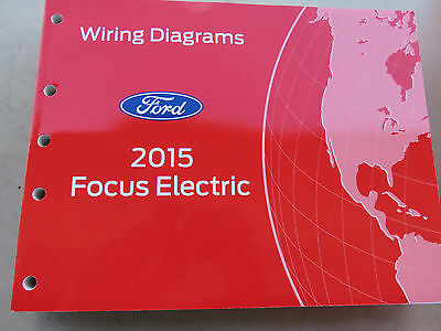 2015 Ford Focus Electric Wiring Diagrams   eBay