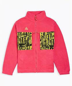 Nike ACG Fleece Jacket (Green Pink)