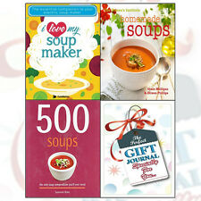 Soup Maker Recipes With Gift Journal 3 Books Collection Set 500 Soups,I Love My