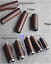 Bike Handlebar Grips Litchi Grain 2mm Leather Bicycle Ergonomics Long Short Grip
