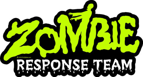 Zombie Response Team Decal Sticker Apocalypse ProSticker 1349 One