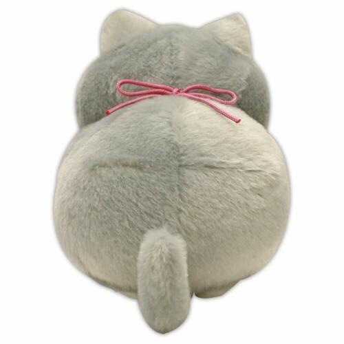 Amuse Hige Manjyu Plush Doll Gomao Sesame Neko Cat Stuffed Toy Japan