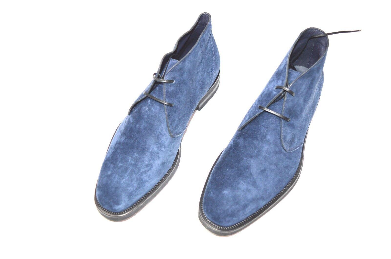 Nuevo De Lujo Cuero STEFANO RICCI Zapatos Talla nos 11 (COD A209)
