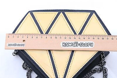 LB-32 Diamant gold/silber Party Lolita Bag Japan Harajuku Trend Umhänge-Tasche