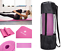 thumbnail 3 - NBR Yoga Mat 10 15 20 Thick  Pad Nonslip Exercise Fitness Pilate Gym Mesh Bag