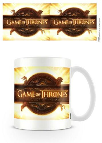 Official Game Of Thrones Opening Logo Mug GOT Boxed Ceramic Cup Gift