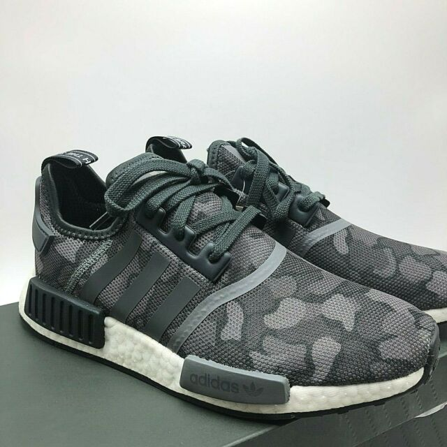 adidas NMD R1 Primeknit BlackGrey Red D96817