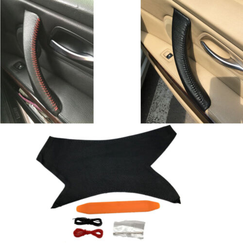 Right Hand Sewing Inner Door Handle Cover Trim For BMW 3 Series E90 E91 05-12