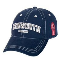 Kenworth Motors Trucks since 1923 Navy Blue Collegiate Cap/hat