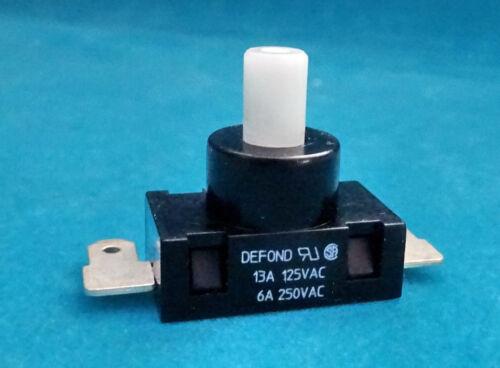 2x Druckschalter    23x13,2mm    Höhe ohne Taste 15mm  •  DEFOND • 07-02-02