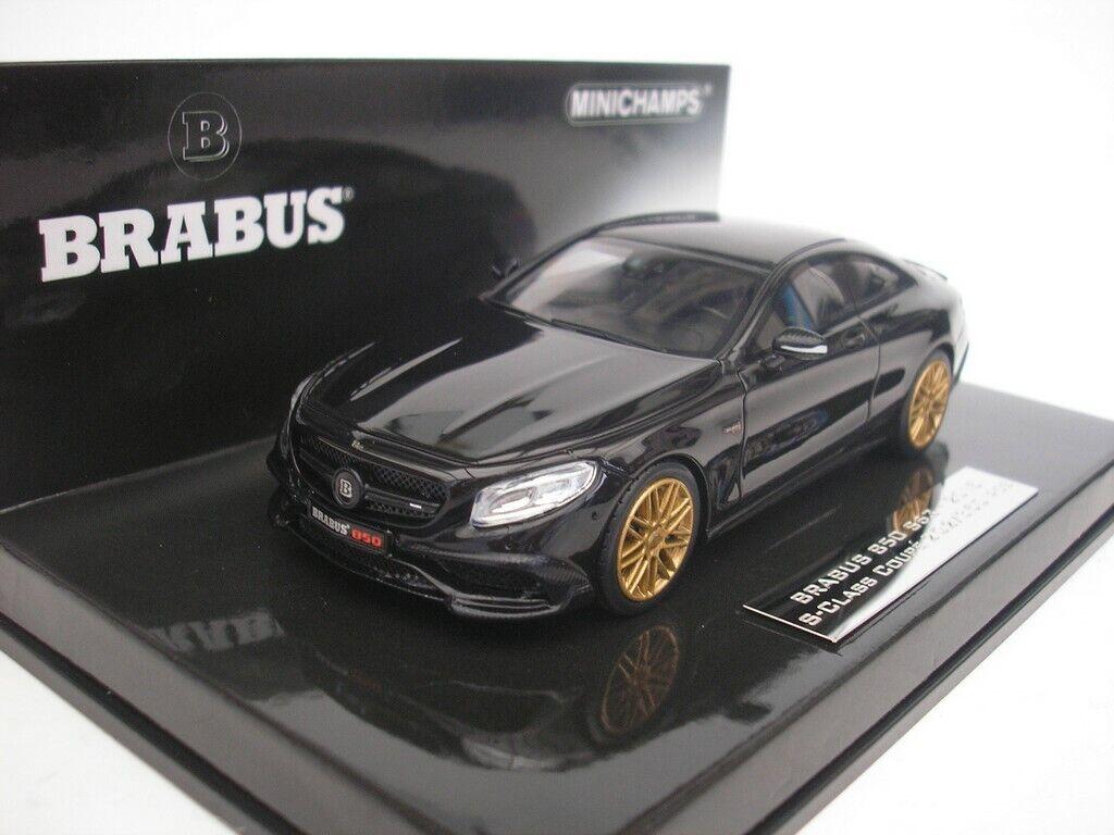 MERCEDES BENZ BRABUS 850 AMG s63 s Class Coupe 2015 Noir 1 43 MINICHAMPS