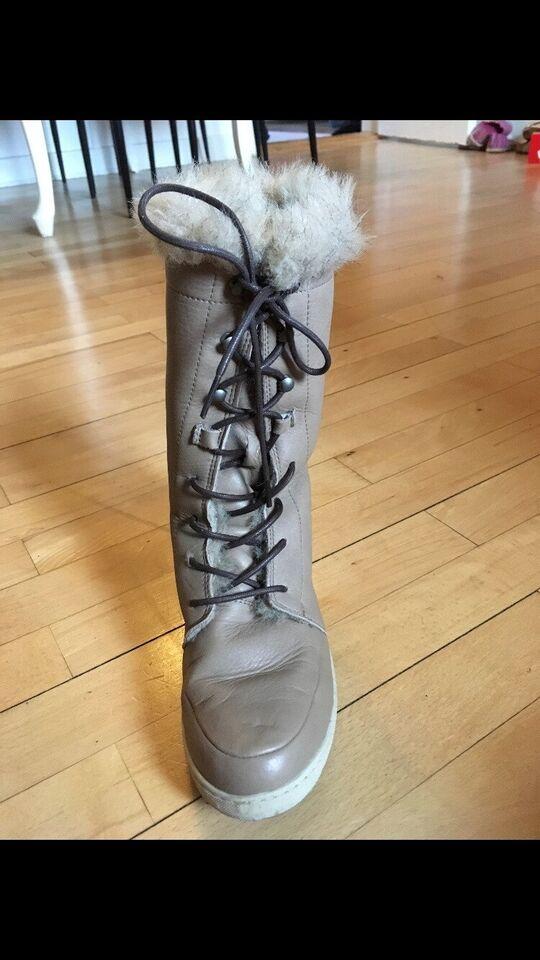 Vinterstøvler, str. 36, Bianco