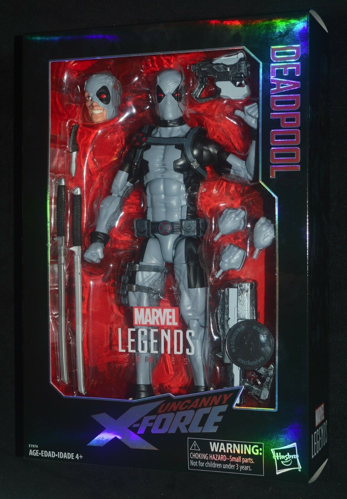 Fr deadpool unheimlich x - force marvel - legenden.