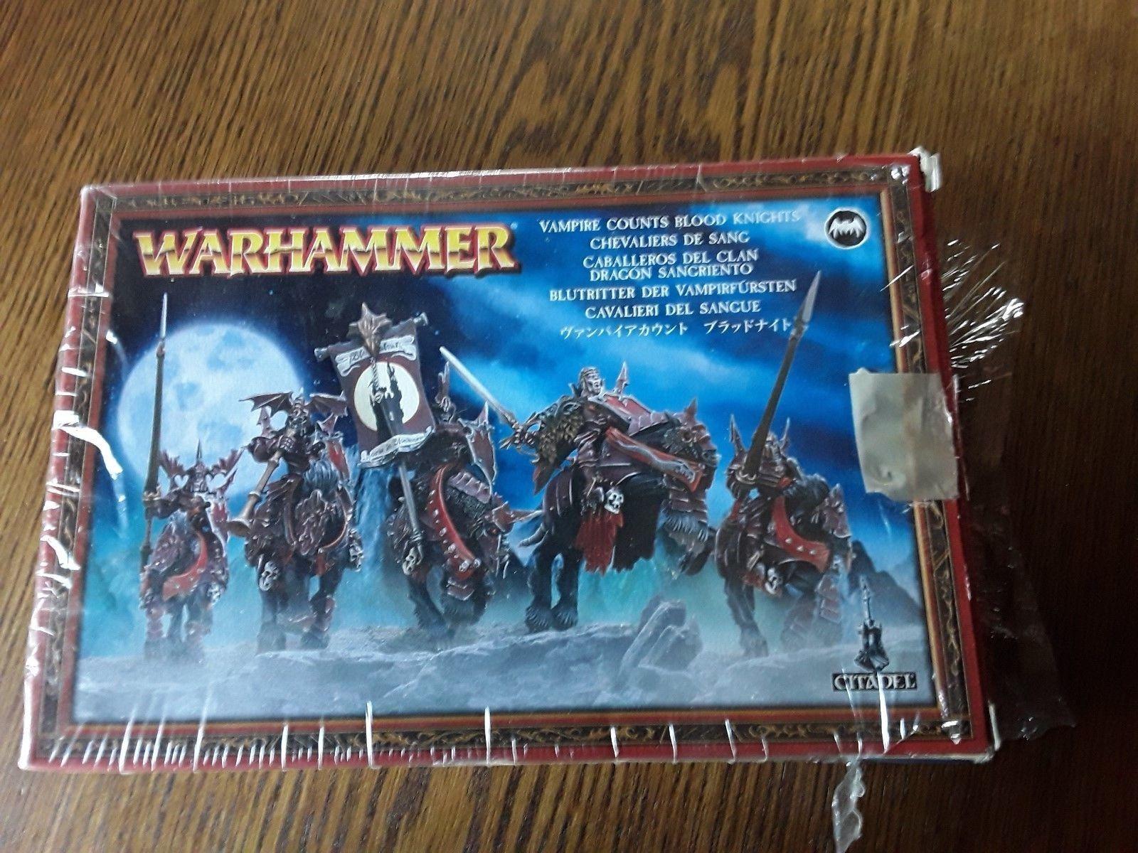 Warhammer Fantasy edad de Sigmar CONDES VAMPIRO CABALLEROS DE SANGRE