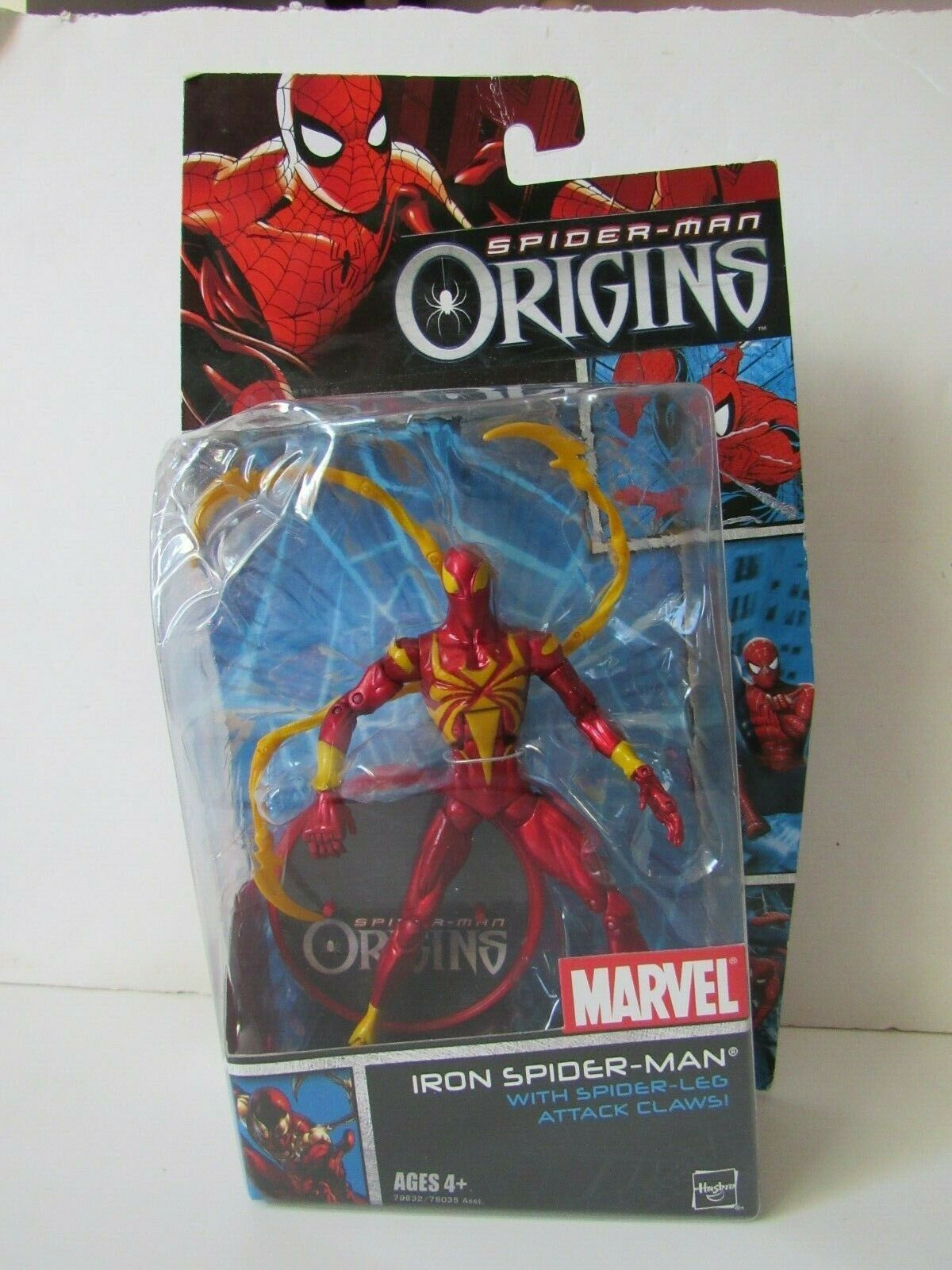 Marvel Legends Classic Origins Metallic Suit Iron Spider man 6  Action Figure