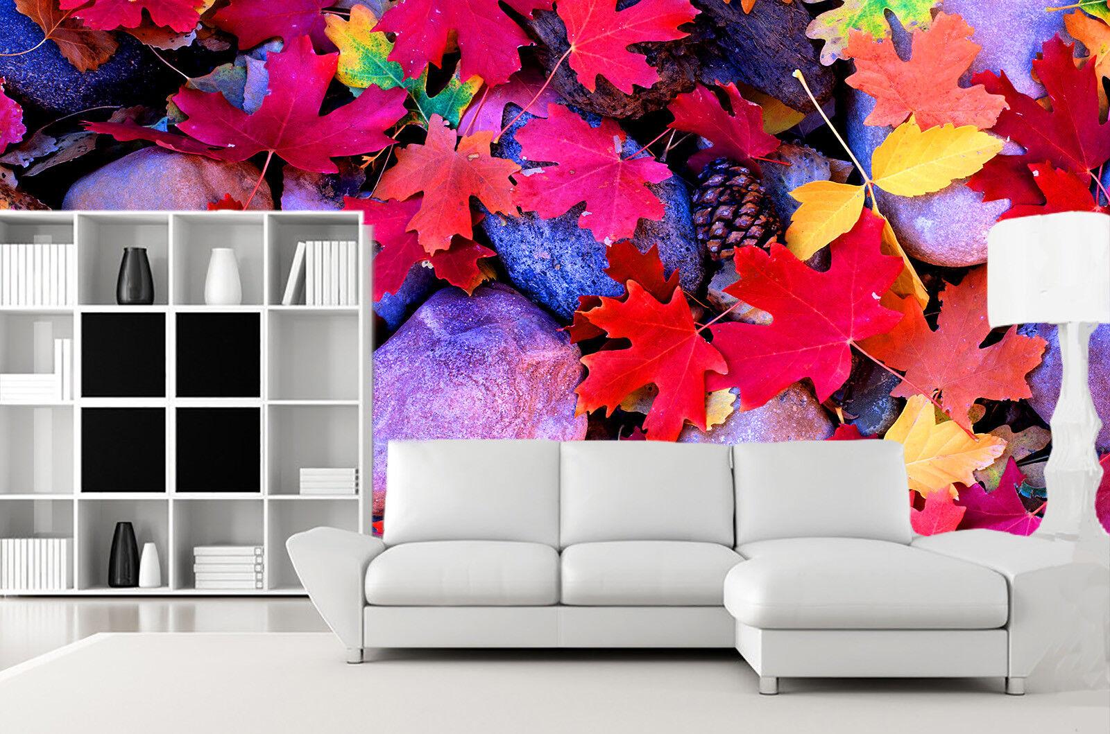 3D Farbige Gefallene Blätter 7 Tapete Wandgemälde Tapete Tapeten Bild Familie DE  | Exzellente Verarbeitung  | Um Eine Hohe Bewunderung Gewinnen Und Ist Weit Verbreitet Trusted In-und   | Gewinnen Sie das Lob der Kunden