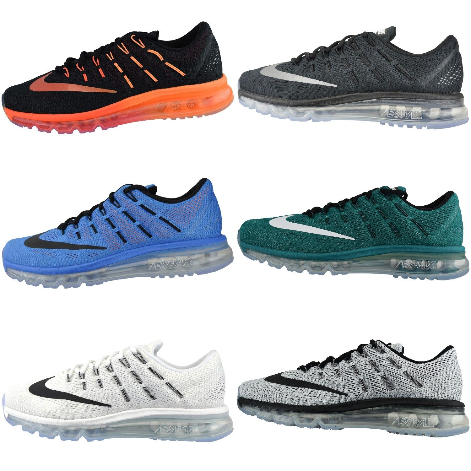 NIKE AIR MAX 2016 Running shoes Sneaker Trainers Textile