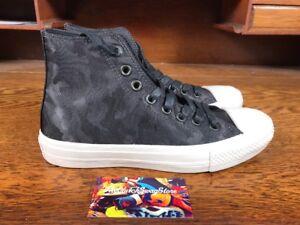 Details about Converse John Varvatos Chuck Taylor All Star 2 BlackWhite New Mens Shoe 153887C
