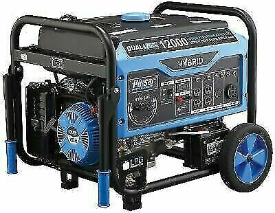 Pulsar Pg12000b 12000w Dual Fuel Portable Generator With Electric Start For Sale Online Ebay