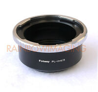 Arri Arriflex Lens To Micro 4/3 M43 Adapter Panasonic G5 G10 Gh3 Ag-af100a