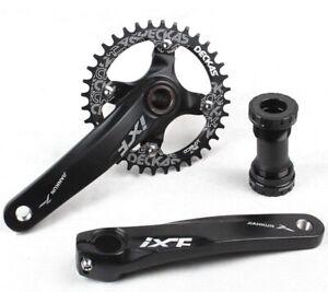 MTB Bike Crankset crank arm 170mm BB Narrow Wide Single Chainring 32 34 36 38T