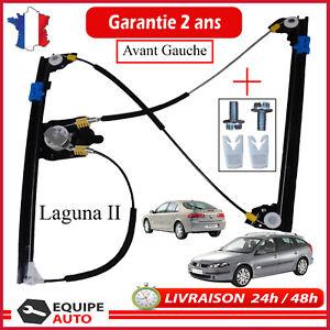 LEVE-VITRE-ELECTRIQUE-AVANT-GAUCHE-RENAULT-LAGUNA-2-MECANISME-CONFORT-OU-SIMPLE