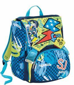 vasta selezione di df0a3 3fde7 Zaino scuola sdoppiabile SJ GANG - BOY - Blu - FLIP SYSTEM - 28 LT ...