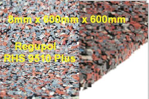 Anti-Dérapant De Coffre Regupol RHS 9510 Auslegware Support 8 mm x 600 mm x 600 mm