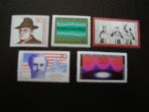 Germany-Rfa-Stamp-Yvert-Tellier-N-741-A-745-N-MNH-COL9