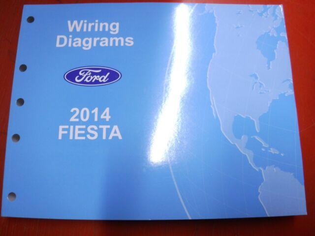 2014 Ford Fiesta Original Factory Wiring Diagrams Manual