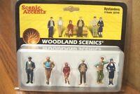 Woodland Scenics Bystanders O Scale Figures
