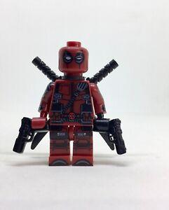 Deadpool-ENDGAME-SUPER-HEROES-minifigure-lego-movie-American-hero-films