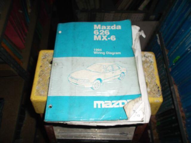 Diagram  2002 2004 Mazda 6 Electrical Wiring Manual Full