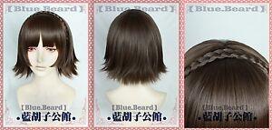 P5-Persona-5-QUEEN-Niijima-Makoto-Game-Costume-Cosplay-Wig-Wig-Cap-Track