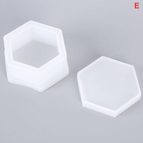 Silicone Pendant Mould Craft DIY Storage Box Epoxy Resin Molds Jewelry Making
