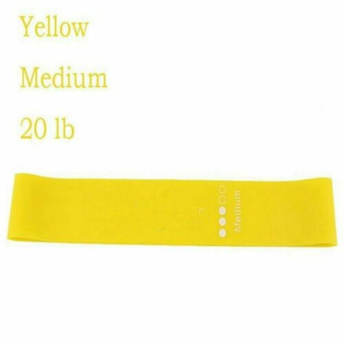 US-Resistance Bands Tube Exercise Elastic Band Fitness Equipment Yoga Loop Bands