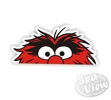 Peeping Animal Muppets Sesame Street Car Van Sticker Stickers Decal Sticker