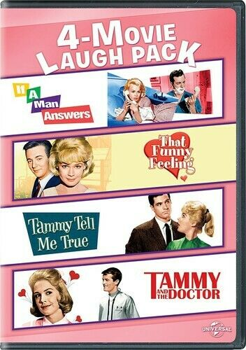 If a Man Answers/ That Funny Feeling/ Tammy Tell Me True/ and the Doctor DVD NEW