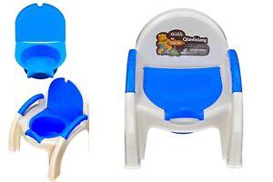 NUOVO 2 in 1 Baby per Bambini Ragazzi Bambino Vasino Training Toilette Allenatore Vasino poltroncina  </span>