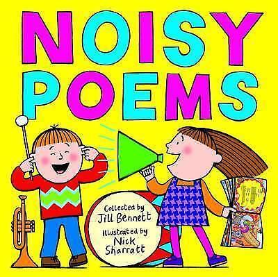 """""""VERY GOOD"""" Noisy Poems, Sharratt, Nick, Bennett, Jill, Book"""