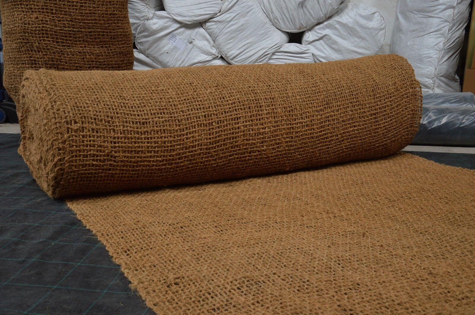 m² Kokosmatte 10,00 x 2,00 m Kokos Matte Bewuchsmatte Pflanzmatte Teich