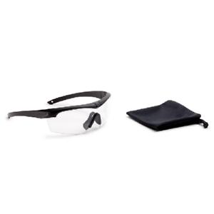 06d52ab9af Image is loading ESS-Crosshair-Ballistic-Tactical-Black-Safety-Glasses-amp-