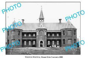 OLD-6-x-4-PHOTO-OF-WAGGA-WAGGA-NSW-MOUNT-ERIN-CONVENT-c1880