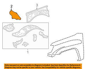 image is loading toyota-oem-05-15-tacoma-fender-apron-assy-