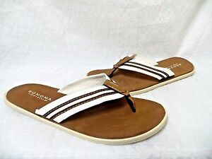 Sonoma Life + Style Slides Sandals Brown [148S]